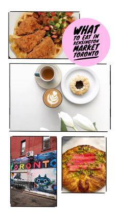 As one of the most vibrant neighbourhoods in Toronto Kensington Market has so much to offer. There's cute patios, bars, vintage shops and most importantly delicious food.  Here's everything you should eat when you visit!  #canada #kensingtonmarket #foodblogger #irishfoodblogger #irishtravelblogger #irishblogger #travel #travelblogger Visit Canada, Food Tasting, Canada Travel, I Foods, Delicious Food, Vintage Shops, Traveling By Yourself, Toronto, Brunch