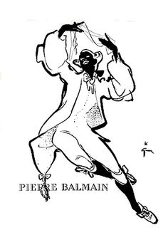 Christian Dior (Perfumes) 1953 René Gruau, Eau de Cologne Miss Pierre Balmain, Jacques Fath, Elsa Schiaparelli, Man Ray, Jeanne Lafaurie, Marie Claire, Christian Dior Perfume, Perfumes Vintage, Rene Gruau
