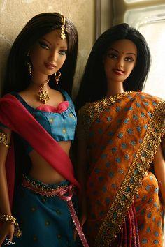 Doll: Diwali Barbie / Barbie in India