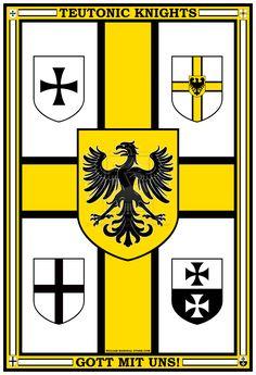 Teutonic Knights Poster by williammarshalstore.deviantart.com on @DeviantArt