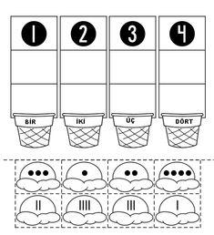 1-4 rakam alıştırma #okulöncesi