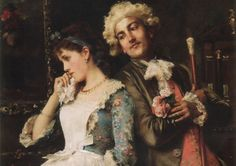 The Love Letter | Federico Andreotti ~ Italian Figurative painter