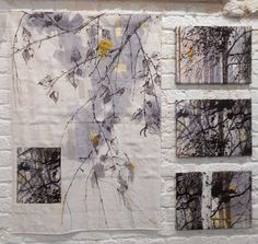 Creating everyday art through the fiber arts. Creating everyday art through the fiber arts. Art Fibres Textiles, Fine Art Textiles, Creative Textiles, Textile Fiber Art, Textile Artists, Fabric Painting, Fabric Art, Techniques Textiles, Art Du Collage