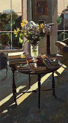 Bruce Yardley, Daisies and Books