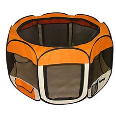BestPet Pet Dog Cat Tent Playpen Exercise Play Pen Soft Crate ** More info could be found at the image url. Note: It's an affiliate link to Amazon.