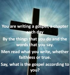 The Gospel According to You