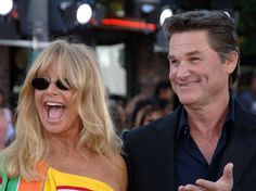 Kurt Russell and Goldie Hawn  They seem so good together!