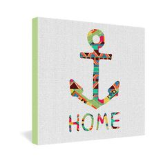 DENY Designs Bianca Green You Make Me Home Gallery Wrapped Canvas | Wayfair