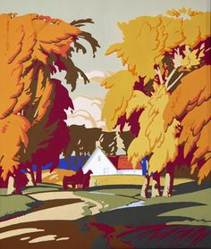 Alfred Joseph Casson - Navillus Gallery Canadian Painters, Canadian Artists, American Artists, Modern Artists, French Artists, Group Of Seven Paintings, Tom Thomson Paintings, Emily Carr, Old Shows
