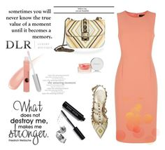 """""""DLR contest"""" by beenabloss ❤ liked on Polyvore featuring Jaeger, Valentino, By Terry, Bobbi Brown Cosmetics, Glo Minerals and dlrboutique"""