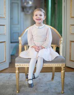 Hat allen Grund zur Freude: Prinzessin Estelle wird heute vier Jahre alt.