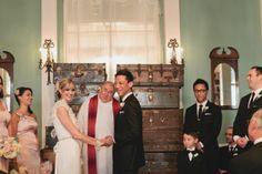 Metropolitan Building Wedding from Katie Osgood