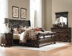 Arbor Place from Liberty Affordable Furniture Stores, Cheap Furniture Online, Bedroom Furniture Sets, Modern Furniture, Bedroom Ideas, Bedroom Sets For Sale, Bed In Corner, Liberty Furniture, Sleigh Beds