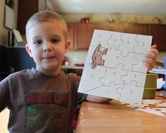 Make a puzzle to count down to a birthday or event - glue on a piece each day, and when the puzzle is complete its time for fun!.