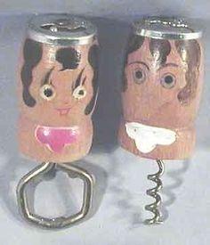 Vintage-Wooden-Salty-Peppy-Corkscrew-Bottle-Opener-Barware-Bar