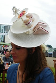 The Libertarian's Afternoon Tea Hat at Royal Ascot