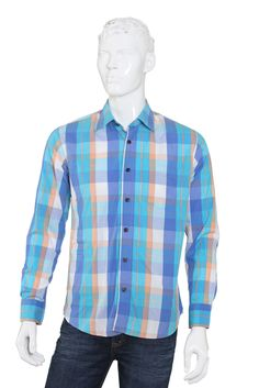 Casual Men's Shirt with Full Sleeves - s12ccms209