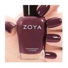 Zoya Naturel Deux Fall 2014 Collection Marnie – Deep Warm Plum, Full Coverage Formula