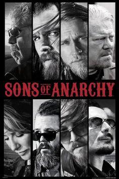 FLM91060 Sons of Anarchy 24x36