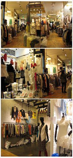 Inside of a market of Dongdaemun