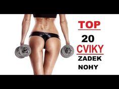 TOP 20 cviků na nohy (stehna), hýždě | Svět cviků