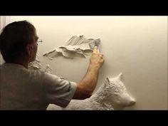 Moberg Gallery Artist Portfolios Gypsum Pinterest Drywall - Artist uses drywall to create extraordinary sculptures