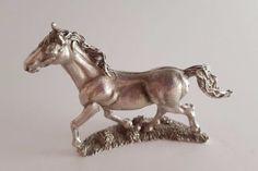 "Detailed Trotting Horse Figurine; Metal; 2"" x 2"" in Collectibles, Animals, Horses: Merch. & Memorabilia, Figurines | eBay"