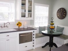 For small kitchens - several great ideas to make the most of limited kitchen space.