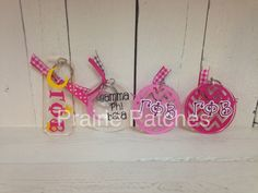 Gamma Phi Beta Keychains available at #PrairiePatchesLawrence