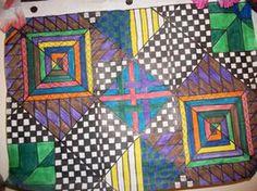 Tribal patterns- graph paper art 4 by Lyla-Amnethyst on deviantART
