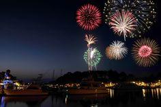 HarbourFest Fireworks at Palmetto Dunes Oceanfront Resort