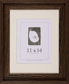 11x14 Picture Frames  Barnwood Frames  Appalachian Series Rustic Brown >>> See this great product.