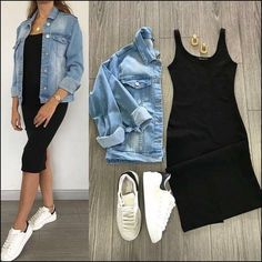 130 fantastic summer outfits to wear asap page 32 Source by Fashion dresses Cute Casual Outfits, Chic Outfits, Spring Outfits, Dress Casual, Dress Outfits, Fashion Mode, Look Fashion, Womens Fashion, Fashion Trends