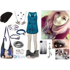 """Punk Rock Princess"" by bvbzombies98 on Polyvore"