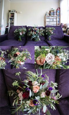 wedding flowers by Violets and Vlevets, london wedding Jenny Packham Wedding Dresses, Relaxed Wedding, Table Centers, London Wedding, Violets, Good Music, Rock And Roll, Wedding Flowers, Groom