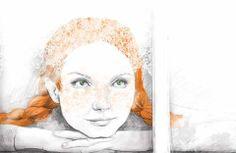 Anne by a Polish illustrator - Sylwia Kaczmarska