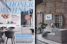 News – Sandra Schollmeyer A nice start into the year 2016 with Schöner Wohnen featuring the Wallhanging Bondegera in their editorial about Design made in Germany. Thank you!