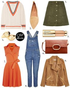 Weekly Wish List | Topshop Dungarees and AW16 Accessories