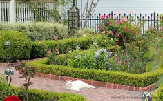 Puttin On The GRITS I Love Look Of A Formal English Garden