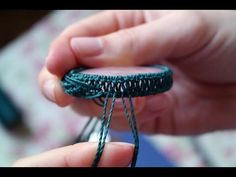 ▶ Quick Macrame Tutorial on How to Wrap a Stone [DIY] - YouTube