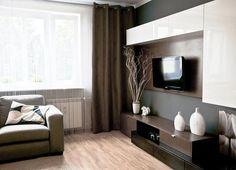Wnętrza, pokój dzienny - remont pokoju dziennego