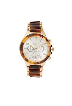 Love this Tiger Eye Chronograph Watch | FOREVER21 - 1000122813