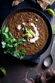 Dal Makhani - Creamy Buttery Lentils is a North Indian classic comfort food.
