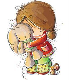 Imagenes bonitas de niños y niñas - Imagenes y dibujos para imprimirTodo en imagenes y dibujos