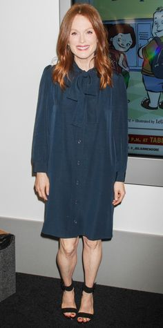 Look of the Day - May 29, 2015 - Julianne Moore attends Book Expo 2015 in NYC from #InStyle