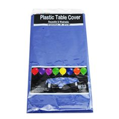 4 Rectangle Plastic Table Cloth Cover Wedding Birthday Party Tablecover | eBay