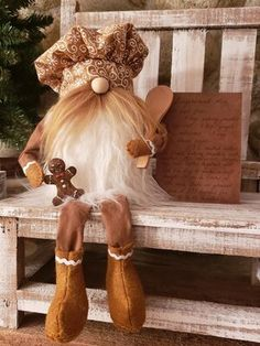 Salty Harbor Treasures Christmas Gnome, Primitive Christmas, Christmas Themes, Christmas Crafts, Gnomes For Sale, Gnome Ornaments, Snow Fun, Scandinavian Gnomes, Diy Arts And Crafts