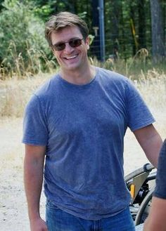 Nathan Fillion: the first person that comes to mind. What a funny, genuine and caring guy.