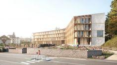 Concours pour la construction d'une médiathèque a Briey (54)
