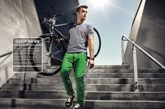 Have you Geared Up yet? Join our spring competition and win a customised JACK & JONES bike.